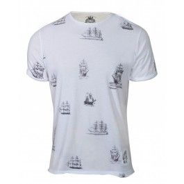 GALLION TEE (WHITE) BOLONGARO TREVOR
