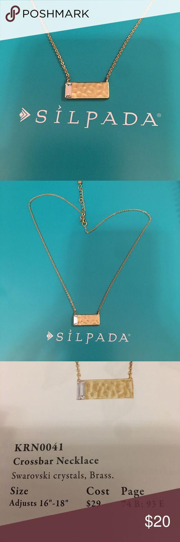 Silpada designs cross bar necklace brass Silpada designs cross bar necklace brass Silpada Jewelry Necklaces