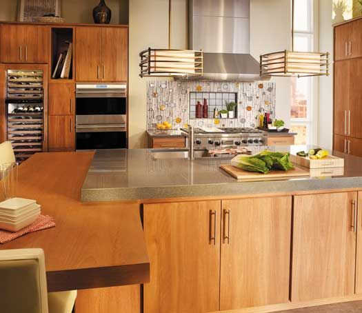 Kitchen Cabinets Naperville: Fieldstone Cabinetry Tempe Door Style In Lyptus Finished
