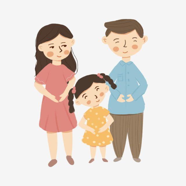 Mama Y Papa Nina Retrato Familiar Elemento De Dibujos Animados Clipart Familiar Padre Mama Png Y Psd Para Descargar Gratis Pngtree Dibujos Animados De Chicas Retrato Familiar Dibujo Para Mama