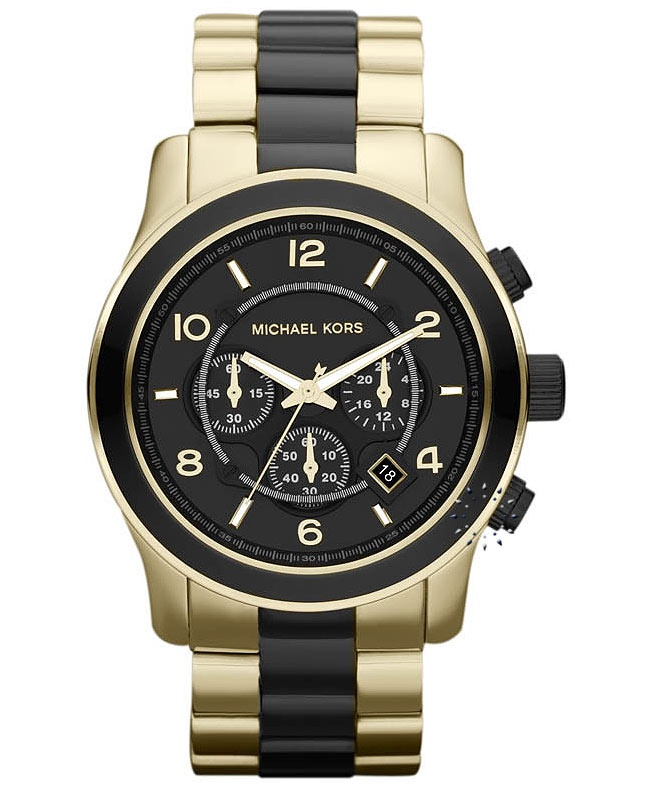 Michael KORS Chronograph Gold Stainless Steel Bracelet Μοντέλο: MK8265 Τιμή: 285€ http://www.oroloi.gr/product_info.php?products_id=32576