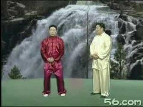 Chen Xiao Wang teaches standing
