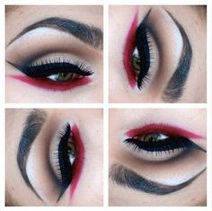 Female Pirate Makeup Ideas | Pirate makeup idea. Really liking the red