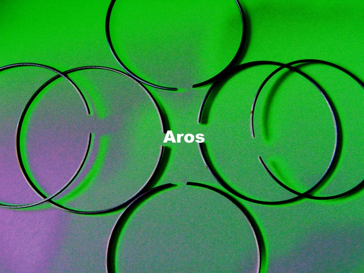 Aros en acero de sección circular