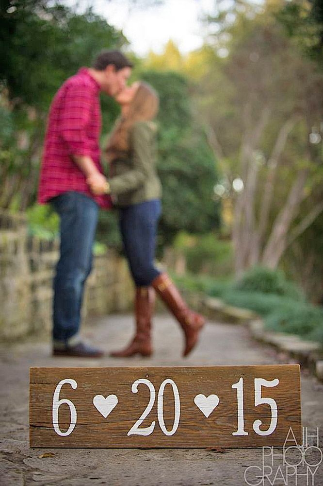 rustic save the date photo ideas 1