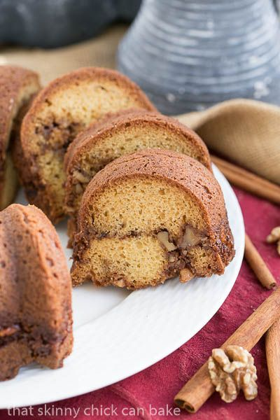 Bunt Banana Sour Cream Coffee Cake