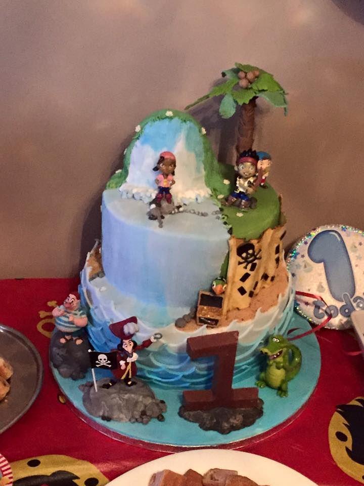 1st birthday - jake and the neverland pirates