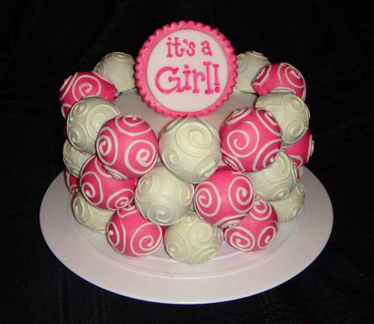 Easy Cakes For Girls | Easy Baby Shower Cake Ideas For Girls