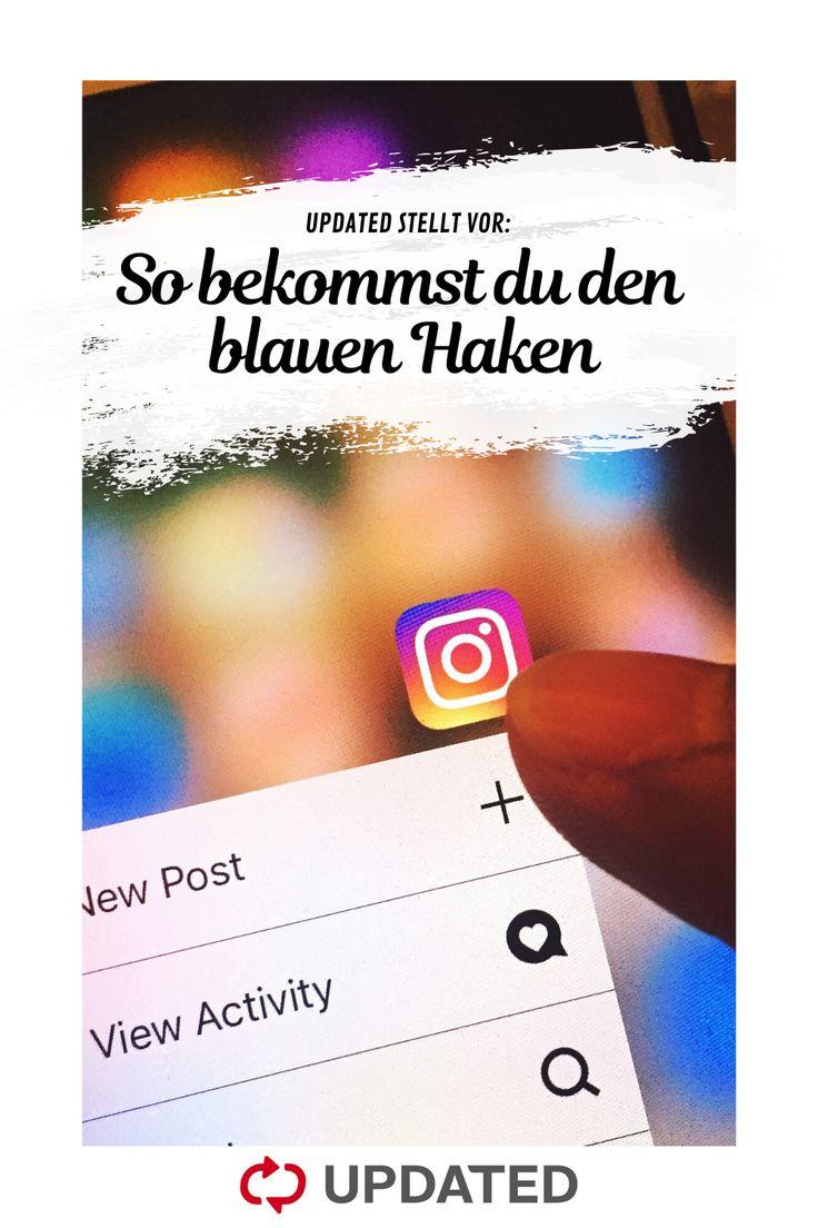 Blauer Haken: Instagram und Facebook verifizieren |OTTO | Instagram, Tipps und tricks, Haken