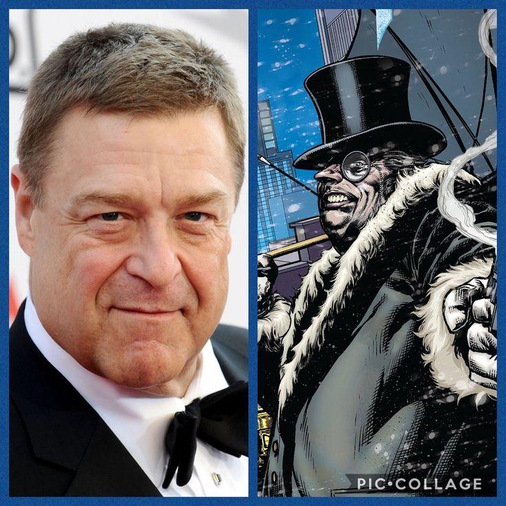My Ideal DCEU Batman Villains John Goodman - The Penguin ...  Leonardo Dicaprio Riddler