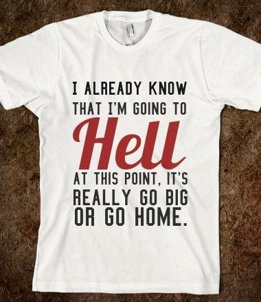 I really want this shirt but I think my grandma would have a stroke if I wore it around her