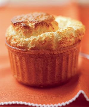 Perfect for Valentine's Dinner: Cheese Souffle | Get the recipe: http://www.realsimple.com/food-recipes/browse-all-recipes/cheese-souffle-10000000608436/index.html