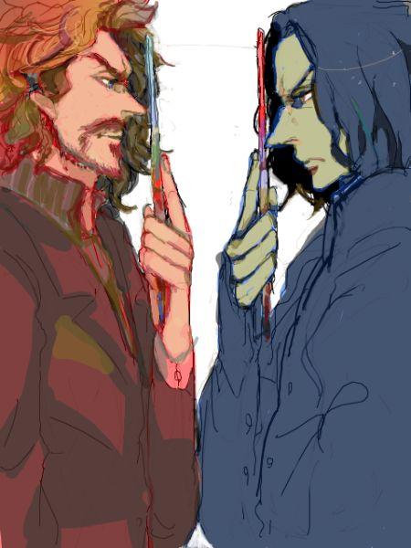 Сиріус Блек(?) і Северус Снейп