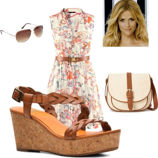Perfect outfit for a summer day by own-style on Polyvore featuring moda, Crown Vintage, Forever 21 and Zuhair Murad