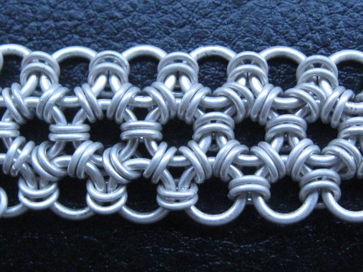 Basket Weave Chainmaille Tutorial : Best images about chainmaille creations on