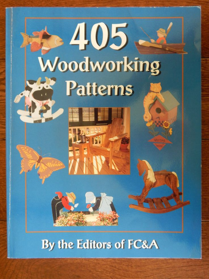 405 Woodworking Patterns by Editors of FC&A/Instructions Patterns yard gardening toy doll furniture rocking horse feeders ornaments seasonal by RedWickerBasket on Etsy