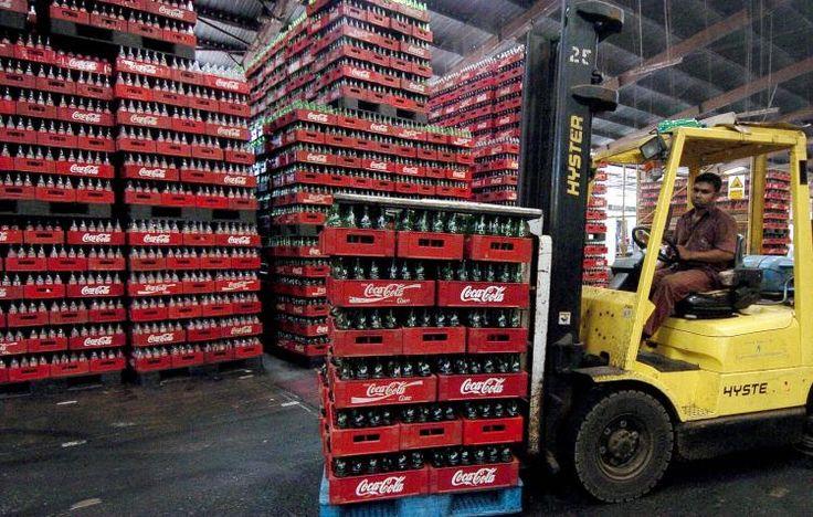 coca cola distribution