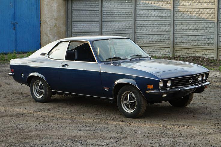 Opel Manta A Luxus 1973