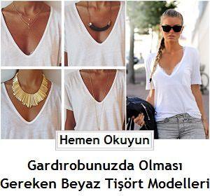 Gardırobunuzda Olması Gereken Beyaz Tişört Modelleri - Beyaz Tişört İle Kombin, beyaz tişört ile kombin örnekleri, beyaz tişört modelleri, beyaz tişörtler, Bol Dökümlü Beyaz Tişört, dolapta olması gereken beyaz tişört modelleri, kadın beyaz tişört modelleri, kadın beyaz tişörtler, kısa kollu beyaz body, kısa kollu body, nasıl kombin yapılır, nasıl kullanılır, tişört kesimleri, tişört modelleri, Uzun Beyaz Tişört, Uzun Beyaz Tişört Modelleri, Uzun Beyaz Tişörtler,