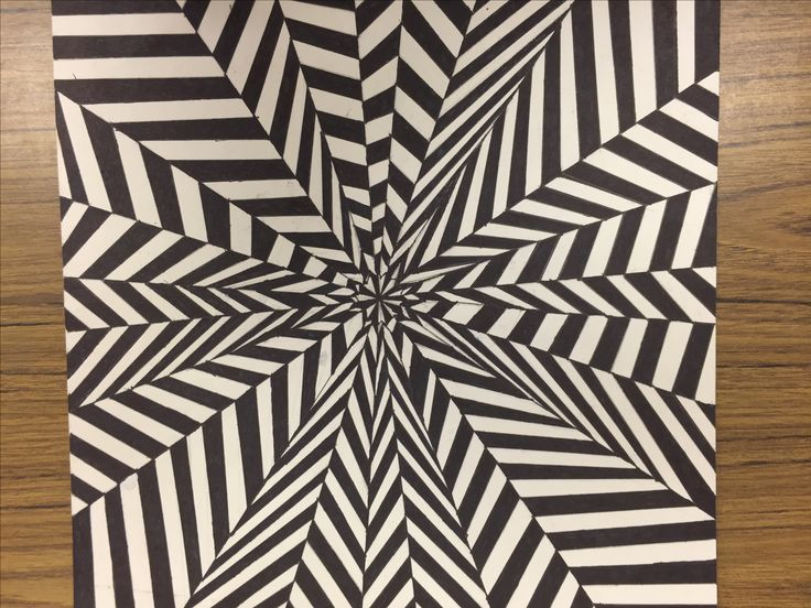 Op art, movement
