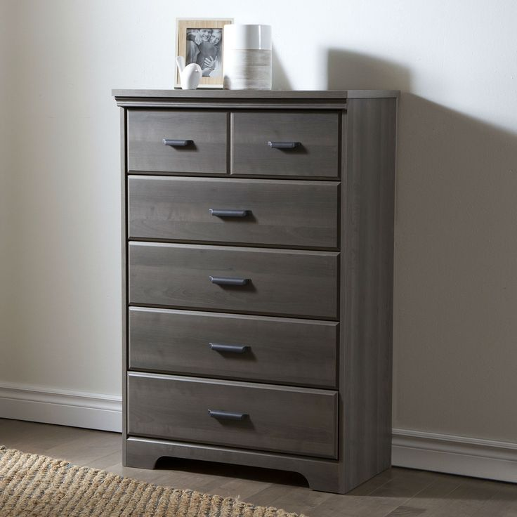 Gray Maple Wood Finish 5 Drawer Bedroom Chest of Drawers. 17 Best ideas about Bedroom Chest Of Drawers on Pinterest
