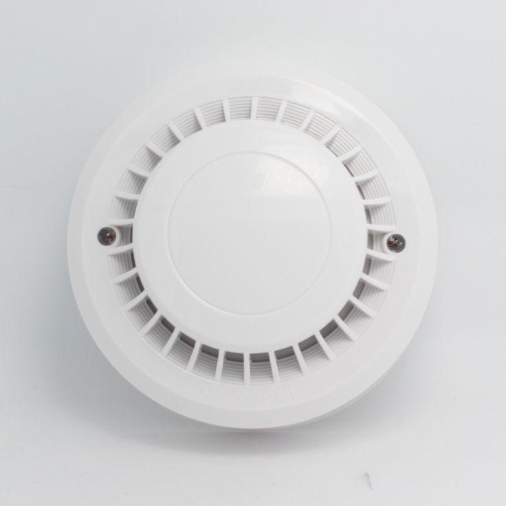 (1 UNIDS) seguridad Para El Hogar sensor de humo de alambre NC NO HAY salida de señal de alarma de control de Incendios sistema de alarma inteligente de ajuste accesorios