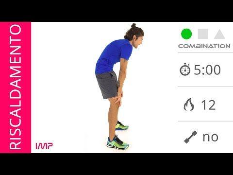 Esercizi di Riscaldamento Muscolare Total Body - YouTube