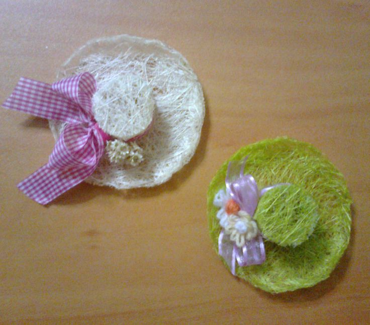 Small spring hats