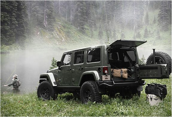 Ride off road in style with the filson-aev-wrangler-