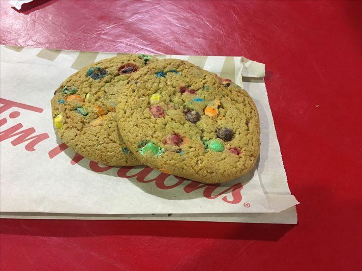 M&M Cookies - Tom Hortons
