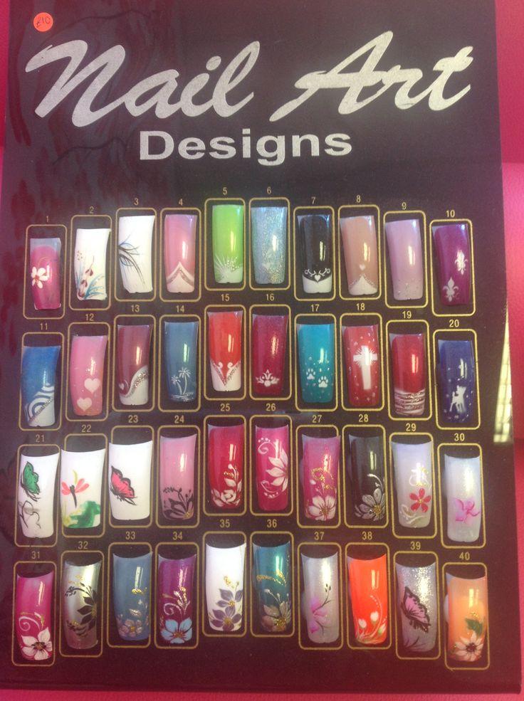 Nail art board example
