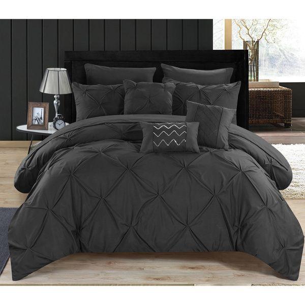 Dark Comforter Sets Modern Classic Bedroom Design 3 Pieces Dark Color Soft King Comforter Set: Best 20+ Black Bedding Ideas On Pinterest