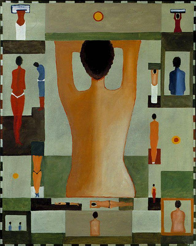 Jerzy Nowosielski | Portret nieznajomej, 1978 | oil on canvas