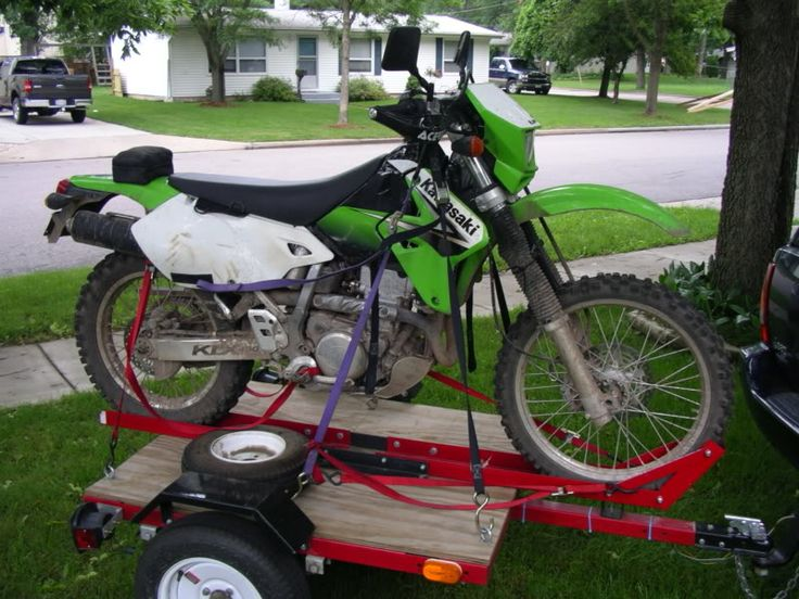 harbor freight motorcycle trailer - Google Search