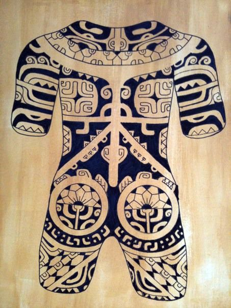 Marquesan Tattoo: 34 Best Images About Traditional Patterns On Pinterest