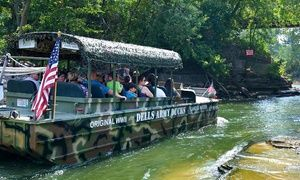 Groupon - Amphibious Tour for Two or Four from Dells Army Duck Tour (Up to 38% Off) in Wisconsin Dells. Groupon deal price: $39