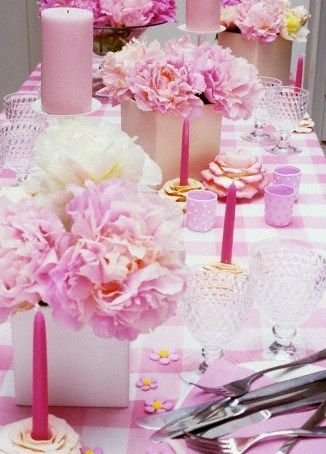 16 Best Images About Une Jolie Table Rose Pastel On Pinterest Mesas Pink Decorations And