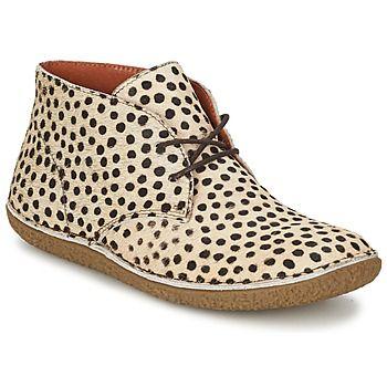 Estilo y carácter son las características de esta bota para mujer modelo Hobbobo de la marca Kickers. Fácil de combinar gracias a su corte en piel en color beige, uno de sus puntos fuertes. Su suela en caucho resistente la vuelve muy confortable. Se integra perfectamente en tu dressing. - Color : Beige / Leopardo - Zapatos Mujer 109,00 €