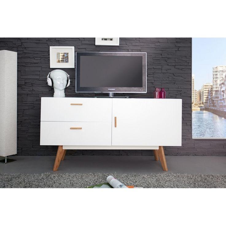 Komoda EPSI 120cm bílá | Design4Life.cz