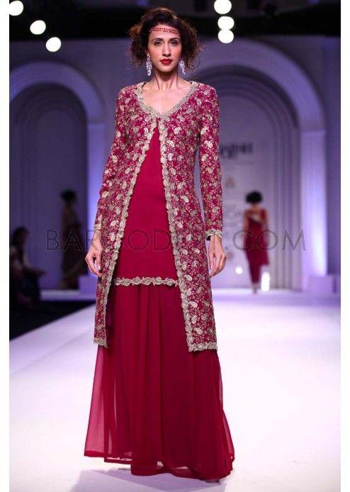 Adarsh Gill collection at the Indian Bridal Fashion Week 2013 at Delhi.