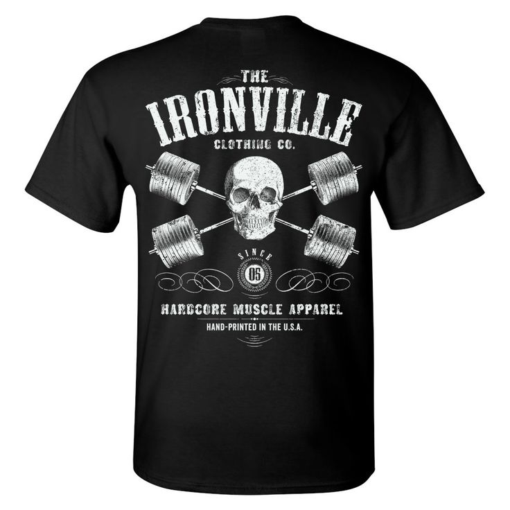 The second of it's kind for Ironville Clothing, this new powerlifting shirt is strictly for the outlaw lifters who break barriers and bend bars. Lock and load one of these gym shirts for yourself in a variety of available styles from our expanding line of gym apparel.