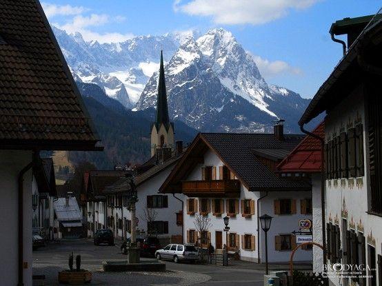 Garmisch, Germany - Zugspitze (the highest peak in Germany) by cristina
