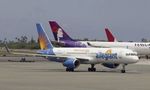 Allegiant Air to offer L.A.-Honolulu flights —  Allegiant Air, the low-cost carrier known for connecting secondary cities to leisure destinations, plans to offer nonstop service between Los Angeles and Honolulu starting October 30.  The Las Vegas-based airline said it will introduce the twice-a-week service with one-way fares starting at $99. Tickets must be purchased by Sunday for travel completed by Feb. 13. (Honolulu Star-Advertiser, Jul 9, 2013)