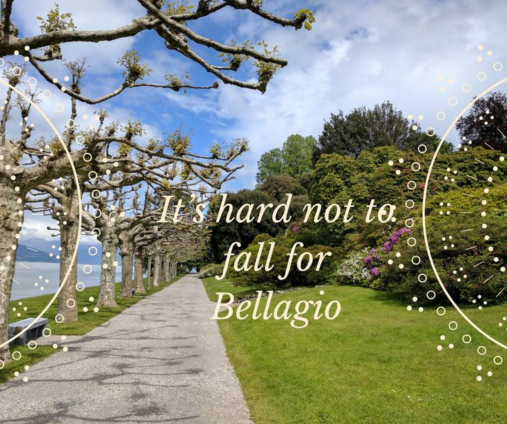 "The city of Bellagio is known as ""Como's Pearl,"" and has been known for that name since Roman Times."