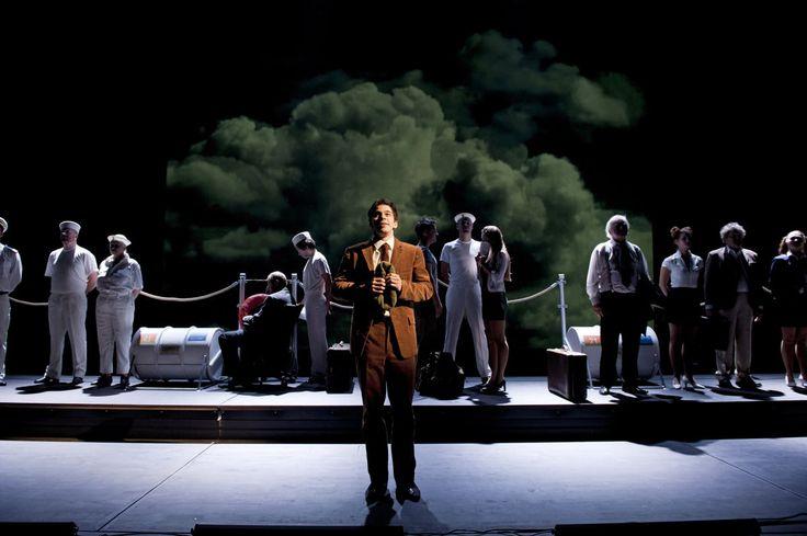 Franz Kafka // AMERIKA // Divadlo J. K. Tyla v Plzni // 2014 //