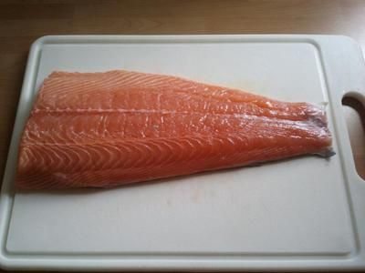 Rezept: Lachs auf Zedernholz gegrillt