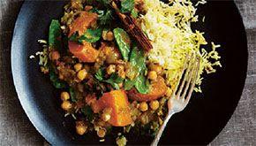 Sophie Dahl's winter curry with saffron cinnamon rice