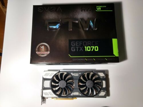 EVGA GeForce GTX 1070 FTW Gaming ACX 3 0 8GB GDDR5 Graphics
