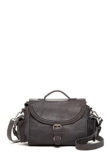 Caprice Leather Studs Saddle Bag by Liebeskind Berlin on @HauteLook