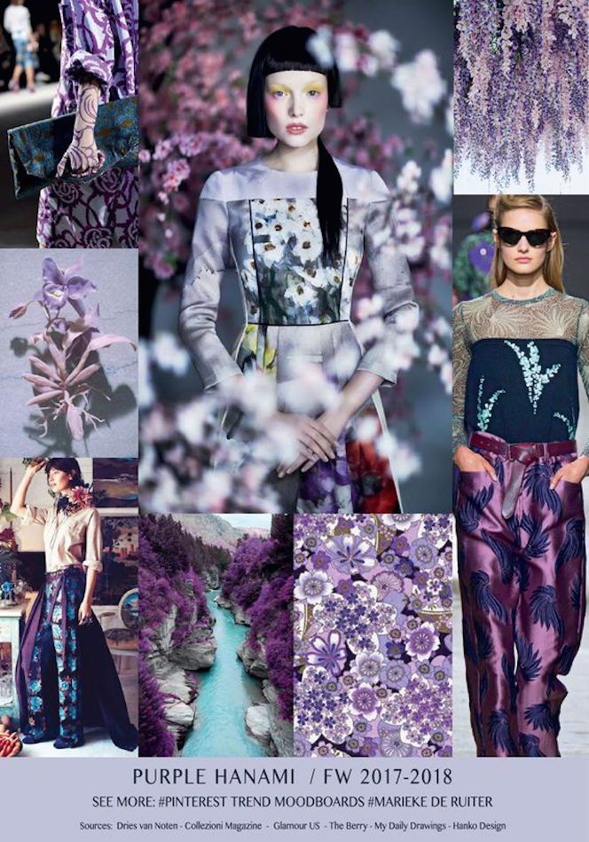 TRENDS // MARIEKE DE RUITER - PRINT/PATTERN/COLOR TREND FORECAST . FW 2017-18 | FASHION VIGNETTE | Bloglovin'